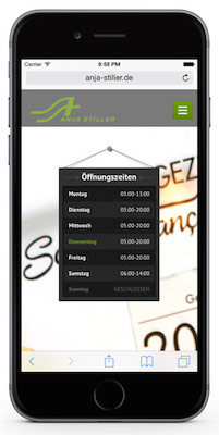 DennisFriebeWebdesign-AnjaStiller-iphone