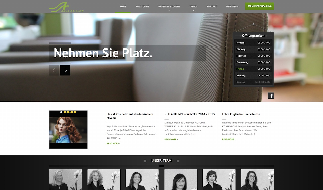Anja Stiller - Homepage