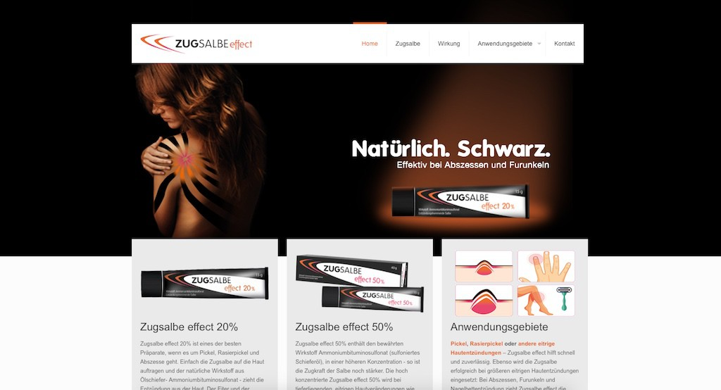 Website – Zugsalbe